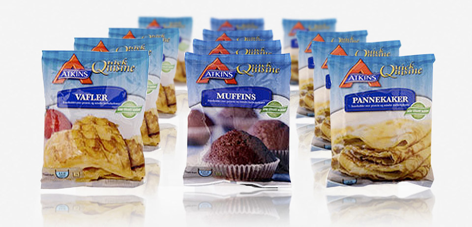 Prints for Atkins quick cuisine bake mix
